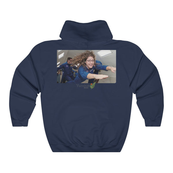 Space DEAL $28 - Gildan 18500 - Unisex Hooded Sweatshirt - Astronaut Christina Koch back on Earth after record-breaking 328 days in space