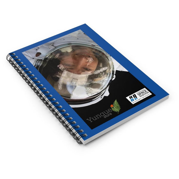 DEAL $10 - Spiral Notebook - Ruled Line - Astronaut Christina Koch lands back on Earth after a record-breaking 328 days in space - SingleClick.store
