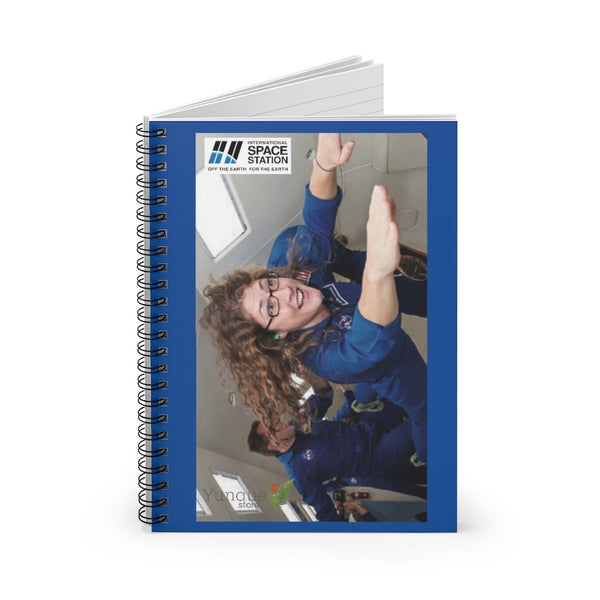 Historic Space DEAL $10 - Spiral Notebook - Ruled Line - Astronaut Christina Koch lands back on Earth after a record-breaking 328 days in space - SingleClick.store