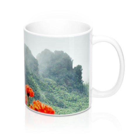 Mug 11oz - View from Yokahu tower El Yunque PR - SingleClick.store