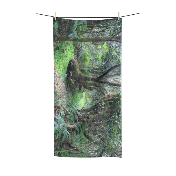 Polycotton Towel - Paradise path Tradewinds trail El Yunque rainforest PR (bundle) - SingleClick.store