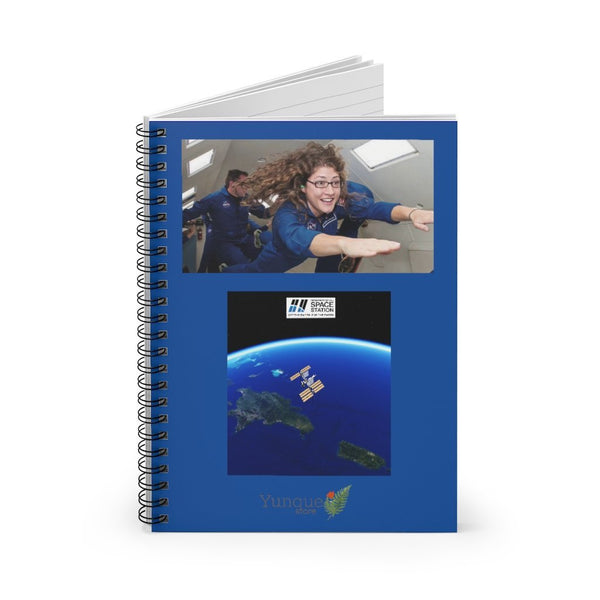 Space DEAL $10 - Spiral Notebook - Ruled Line - Astronaut Christina Koch lands back on Earth after a record-breaking 328 days in space - SingleClick.store