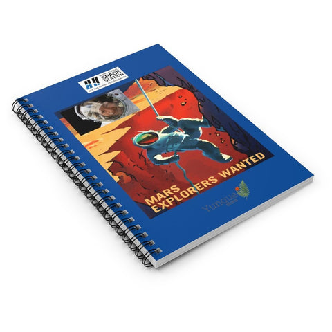 Space DEAL $10 - Spiral Notebook - Ruled Line - Mars explorer wanted - NASA Mars project - SingleClick.store