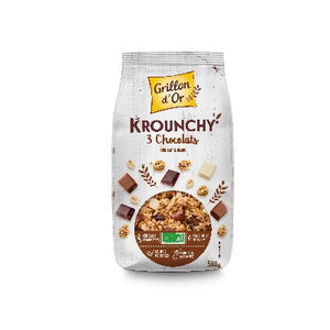 Krounchy 3 Chocolats 500 G Grillon D Or