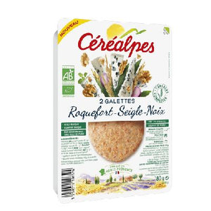 Galettes Roquefort 2x90g Cerealpes