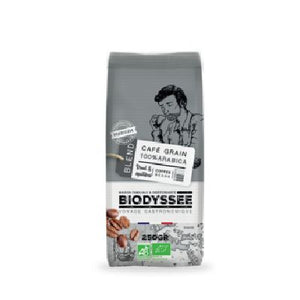Cafe Grain 100% Arabica Medium 250 G Biodyssee