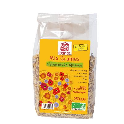 Mix Graines Multivitamines 250G Celnat
