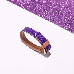 Extra Bracelet for The Sparkling Pup: Glitter Purple