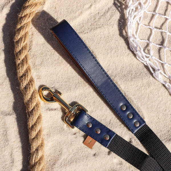 The Classic Pup: Monaco Blue - Leash
