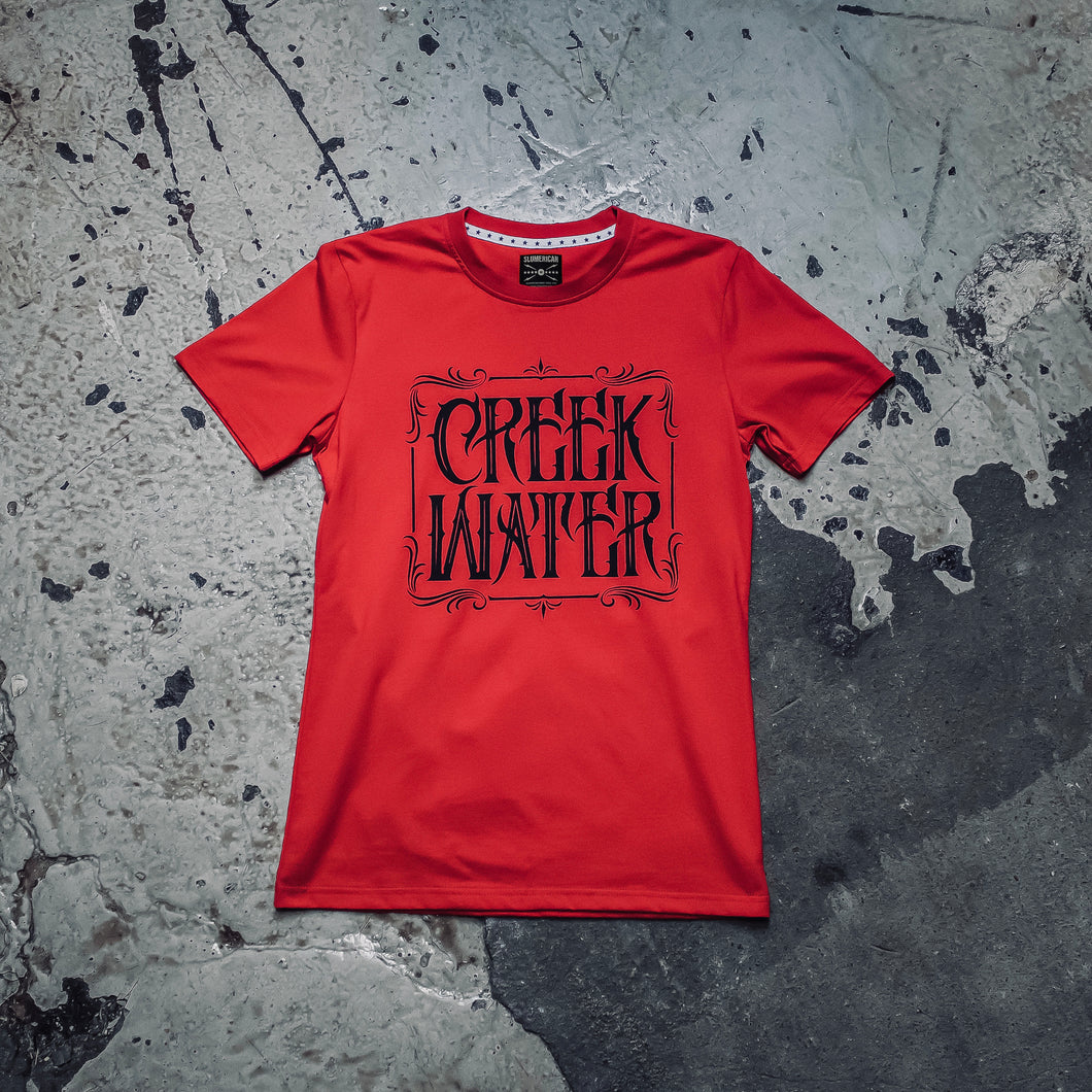 Creek Water Cinnamon Ladies T-Shirt