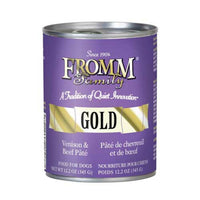 Fromm Gold venison and beef pate
