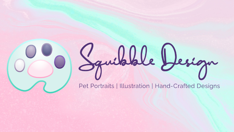 New Logo for Squibble Design!