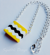Load image into Gallery viewer, Yellow Licorice Allsort Necklace