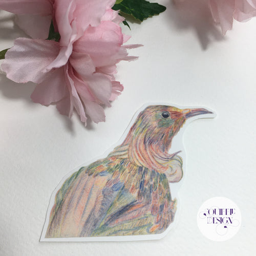 Rainbow Tui Sticker
