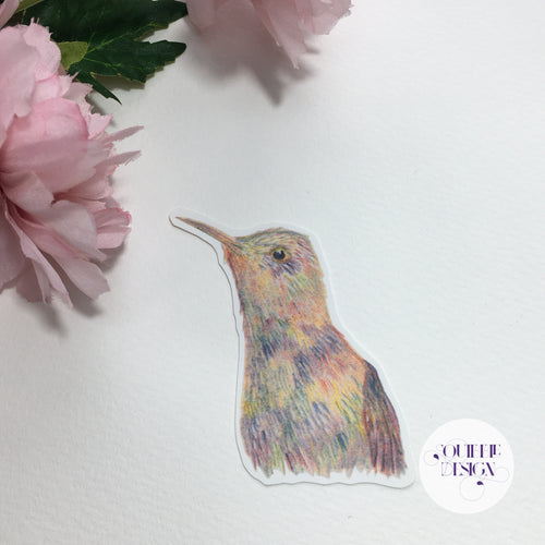 Rainbow Hummingbird Sticker