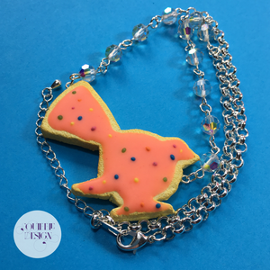 Fantail Animal Cracker Pendant