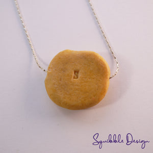 Choc Chip Cookie Pendant
