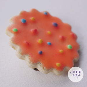 Hundreds and Thousands Biscuit Brooch