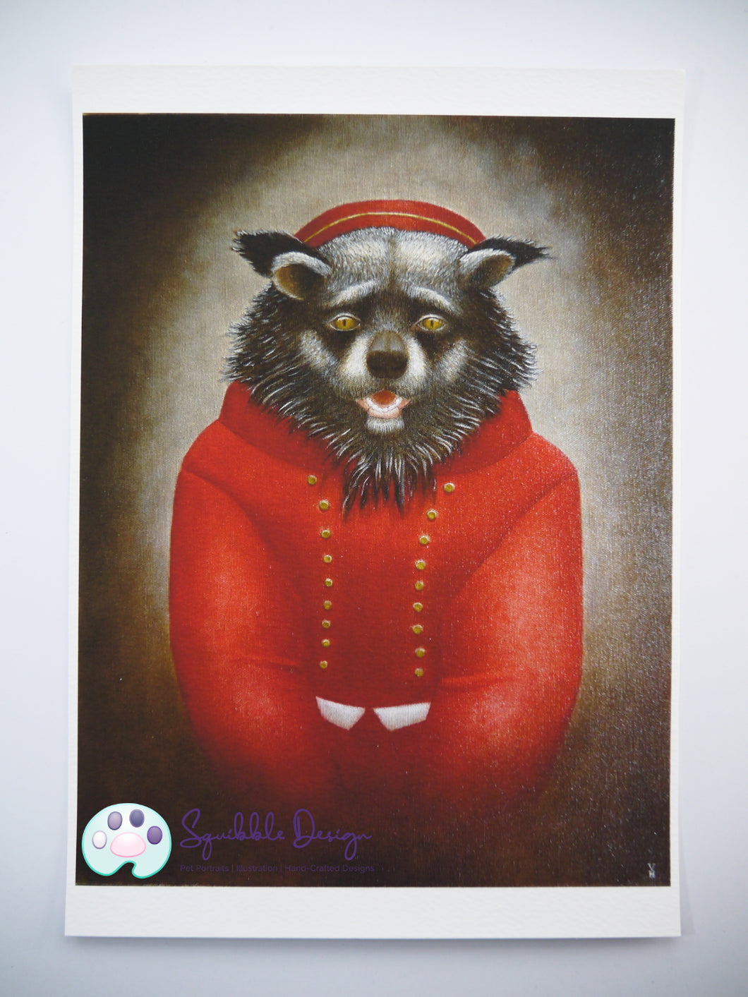 Art Print - Mr Binturong | Victorian Animal Family