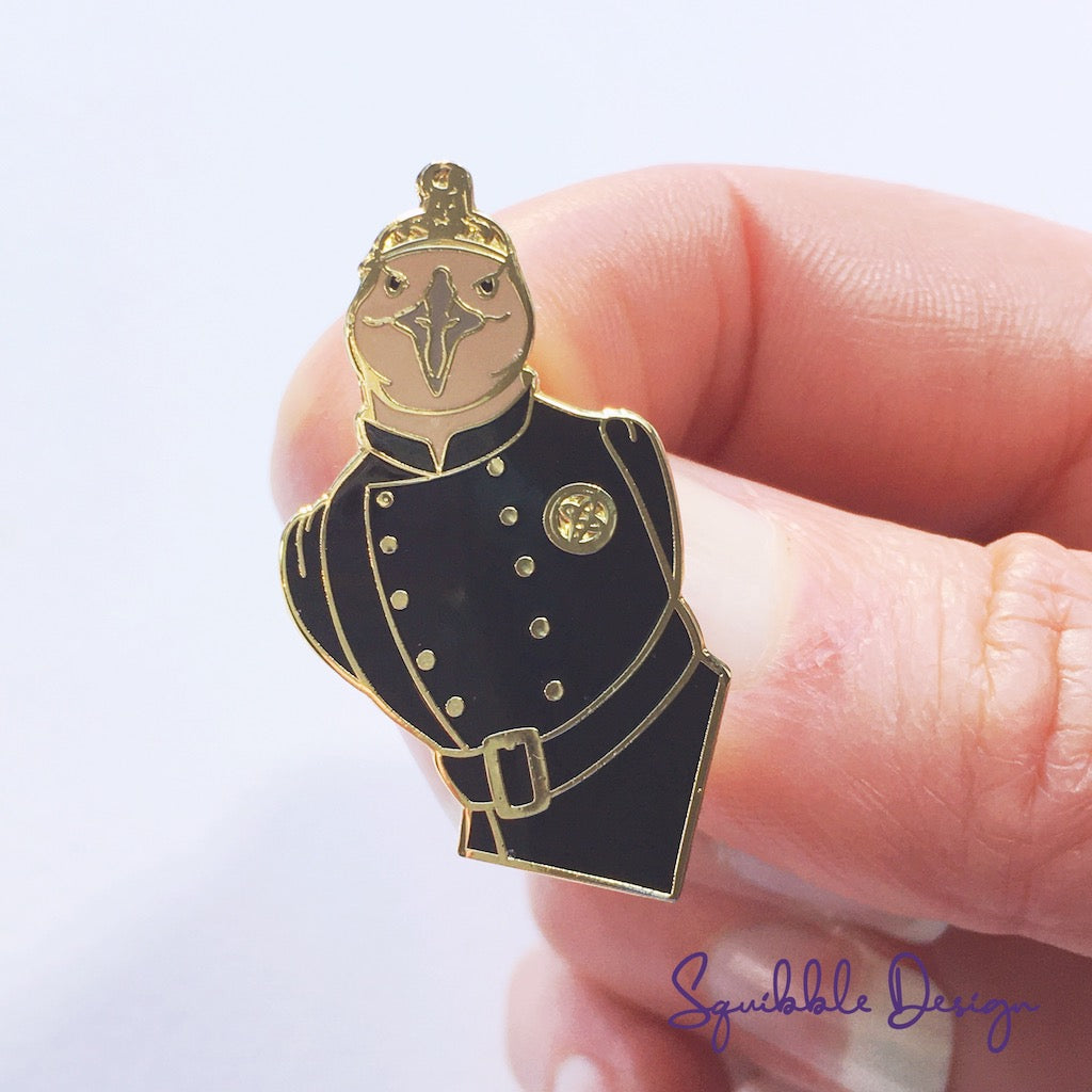 Mr Weka Enamel Pin
