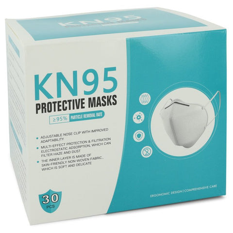 Kn95 Mask Thirty (30) KN95 Masks, Adjustable Nose Clip, Soft non-woven fabric, FDA and CE Approved (Unisex) By KN95