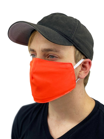 Neon Face Cover  (Available in Orange, Pink, and Yellow)