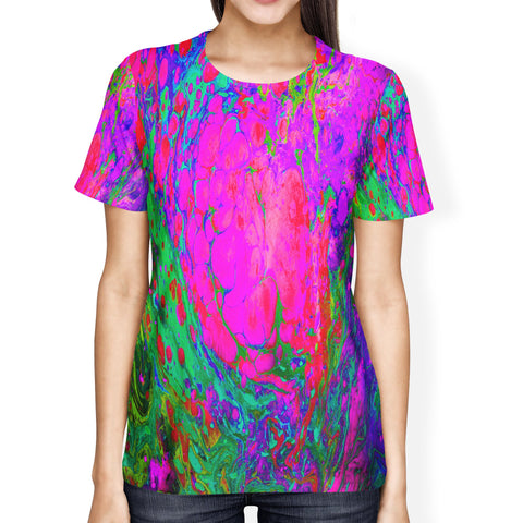 Acid Wash Ladies T-shirt