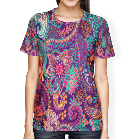 Paisley Mandala Ladies' T-shirt