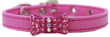 Bow-Dacious Crystal Dog Collar