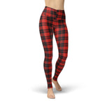 Beverly Red Plaid