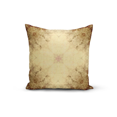 Vintage Earth Flowers Pillow Cover