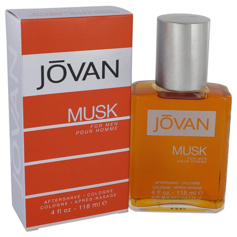 JOVAN MUSK by Jovan After Shave - Cologne 4 oz for Men