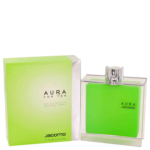 AURA by Jacomo Eau De Toilette Spray 2.4 oz for Men