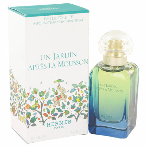 Un Jardin Apres La Mousson Eau De Toilette Spray (Unisex) By Hermes