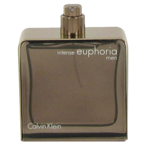 Euphoria Intense by Calvin Klein Eau De Toilette Spray (Tester) 3.4 oz for Men