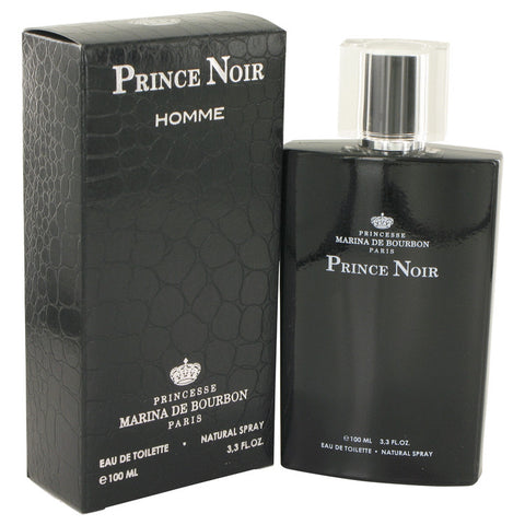 Prince Noir by Marina De Bourbon Eau De Toilette Spray 3.3 oz for Men
