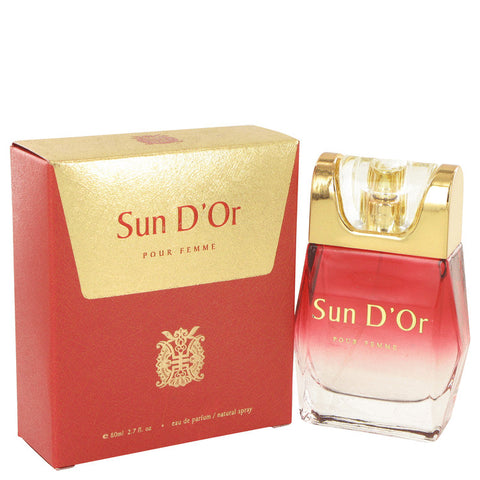 Sun D'or Eau De Parfum Spray By YZY Perfume