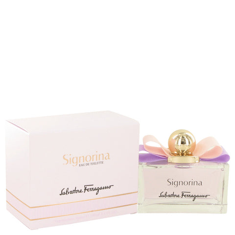 Signorina Eau De Toilette Spray By Salvatore Ferragamo
