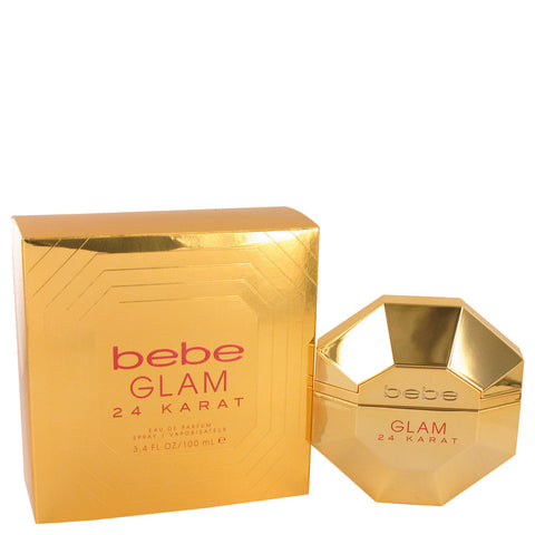 Bebe Glam 24 Karat Eau De Parfum Spray By Bebe