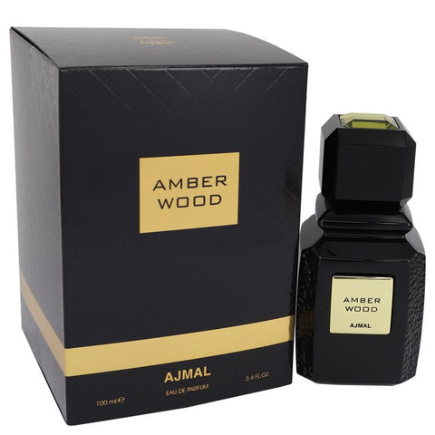 Ajmal Amber Wood Eau De Parfum Spray (Unisex) By Ajmal