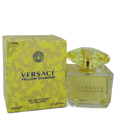 Versace Yellow Diamond by Versace Eau De Toilette Spray 6.7 oz for Women