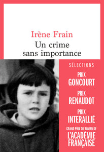 Un crime sans importance - Couverture