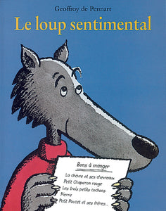 LE LOUP SENTIMENTAL - Couverture
