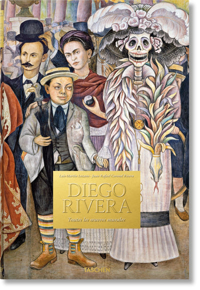 Diego Rivera. Toutes les oeuvres murales - Couverture