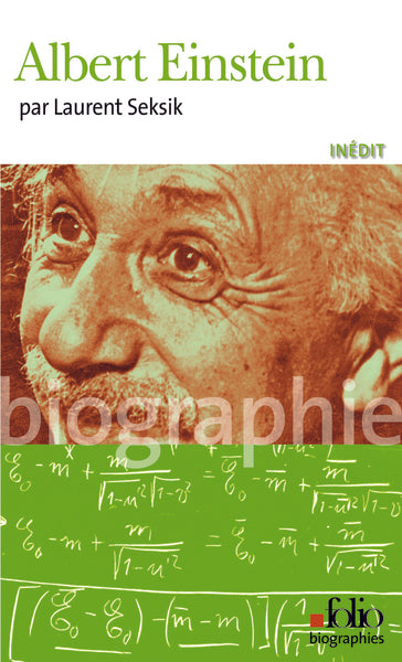 Albert Einstein - Couverture