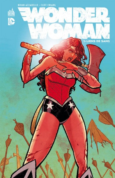 WONDER WOMAN - Tome 1 - Couverture