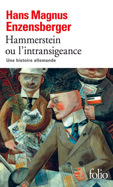 HAMMERSTEIN OU L'INTRANSIGEANCE - Couverture