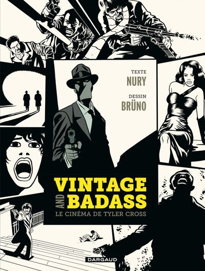 Vintage and Badass, le cinéma de Tyler Cross - Tome? - Vintage and Badass, le cinéma de Tyler Cross - Couverture
