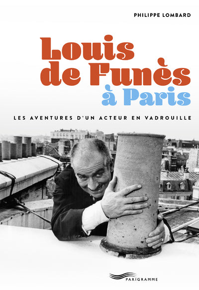 Louis de Funès à Paris - Couverture