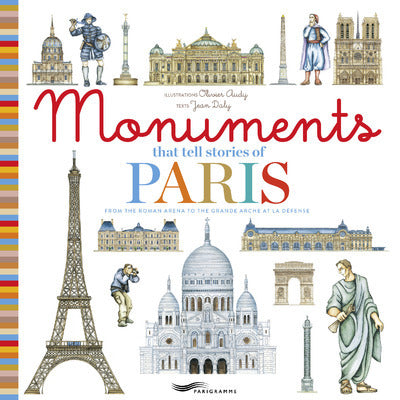 Monuments that tell stories of Paris - Couverture